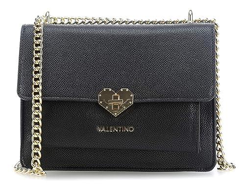 Valentino by Mario Valentino Amelie Shoulder bag black  Amazon.co.uk   Clothing e18882c3afdf3