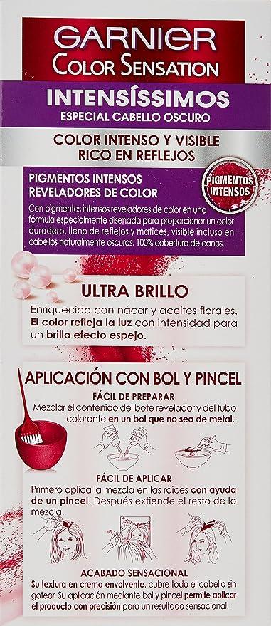 Garnier Color Sensation - Tinte Permanente Castaño Canela ...