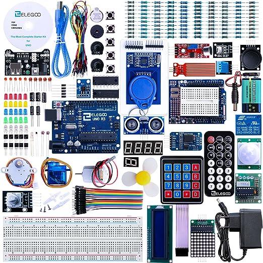 120 opinioni per Elegoo Progetto Arduino Scheda UNO R3 Starter Kit Piu Completo per Principianti