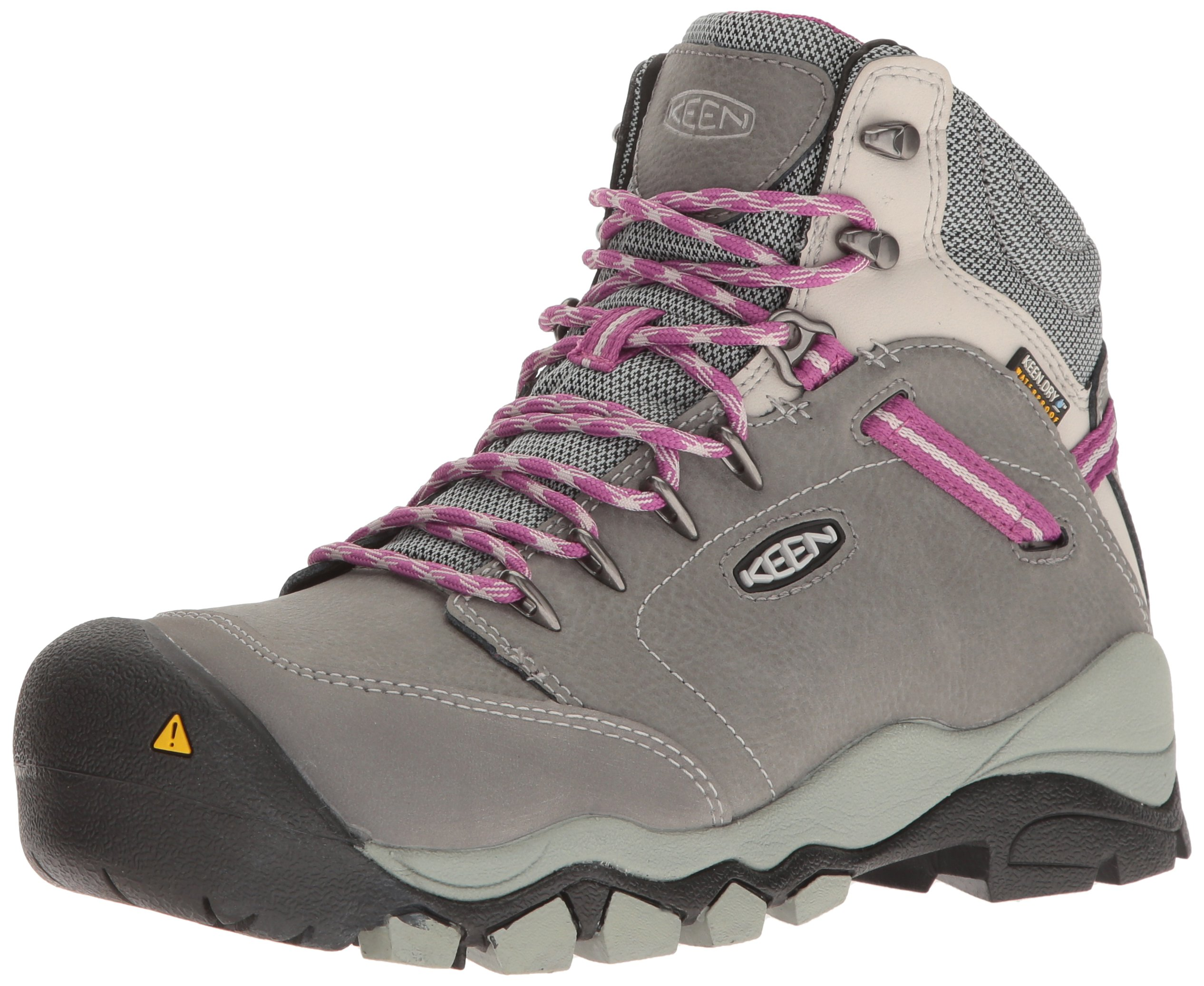 Keen Utility Women's Canby AT Waterproof Industrial and Construction Shoe, Gargoyle/Vapor, 6.5 M US