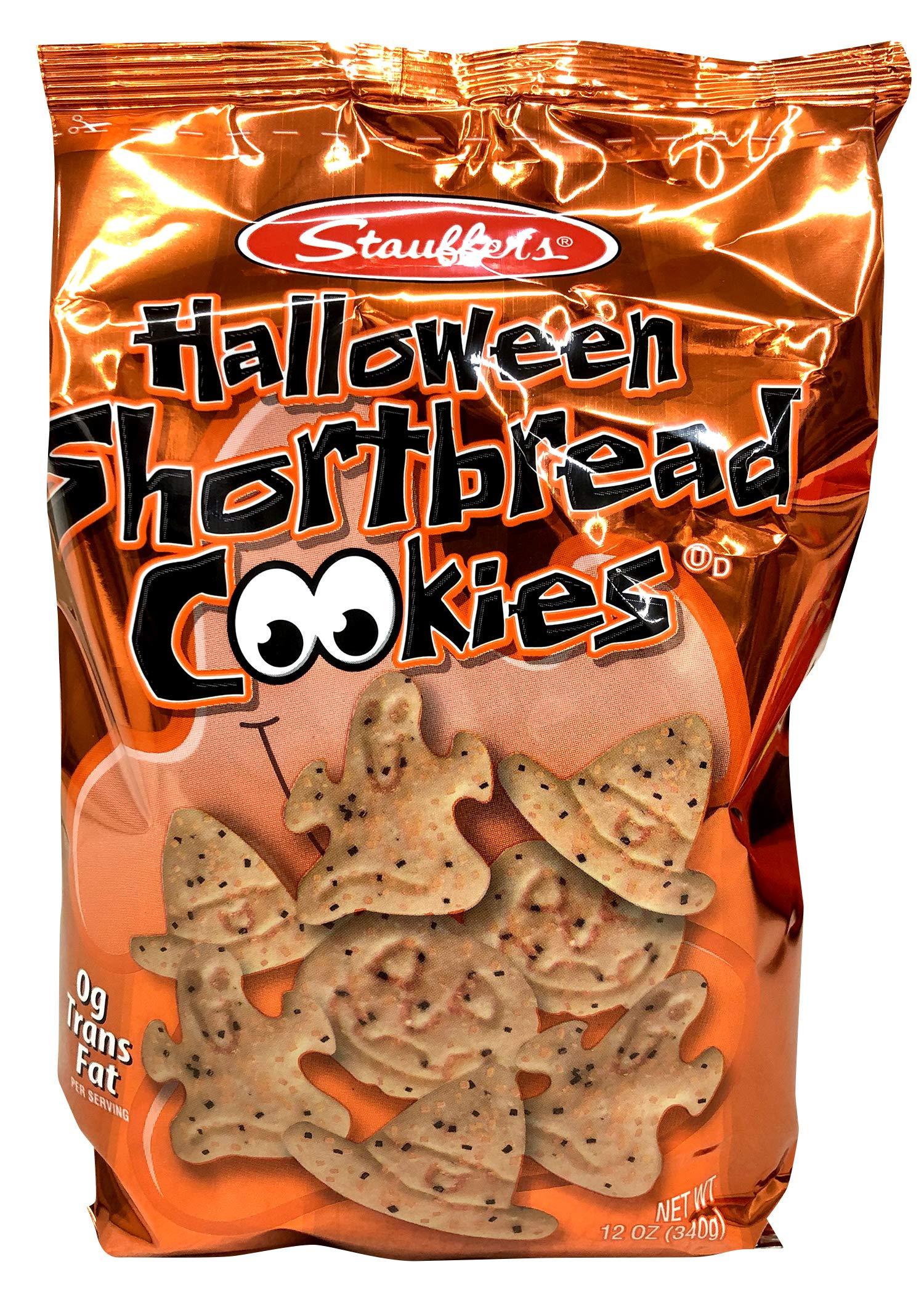 Stauffer's Halloween Shortbread Cookies, 12oz. Bags (Set of 2) by Stauffer's