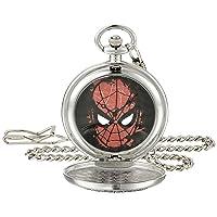 Men's W001746 Spider-Man Analog-Quartz Pocket Watch