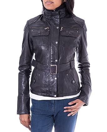 Negro diseño militar de pareja de traje de neopreno para mujer funda de piel abrigo con