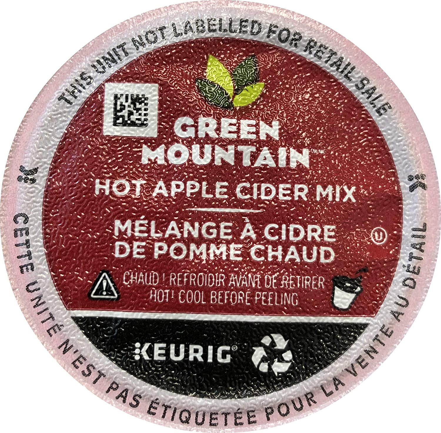 Green Mountain Naturals Hot Apple Cider, K-Cup Portion Pack for Keurig K-Cup Brewers, 24 count
