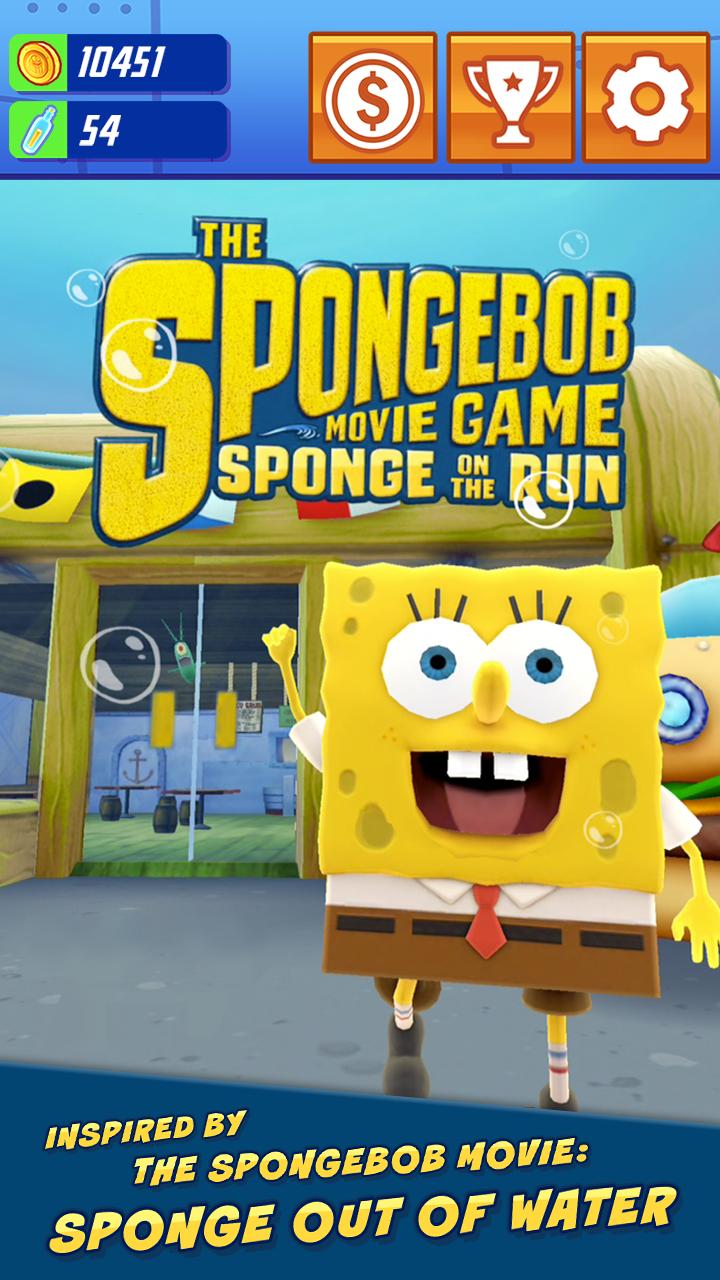 Amazon.com: SpongeBob: Sponge on the Run: Appstore for Android