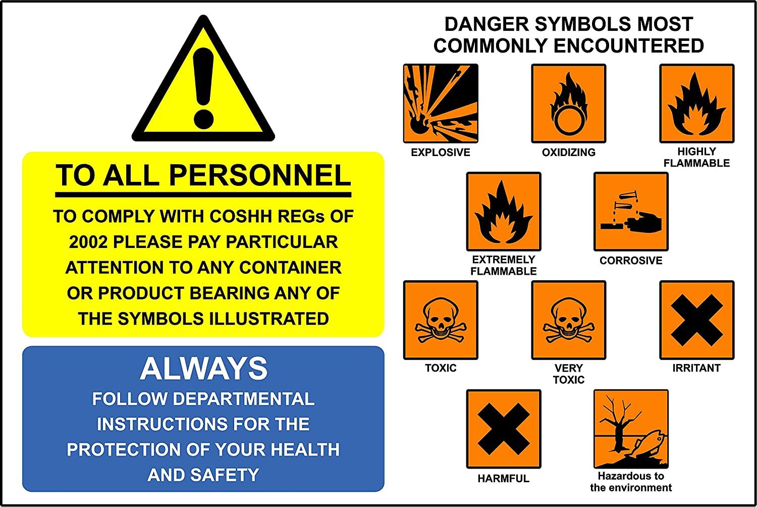 Science danger symbols image collections symbol and sign ideas warning signs coshh symbols self adhesive vinyl 200mm x 300mm warning signs coshh symbols self adhesive biocorpaavc