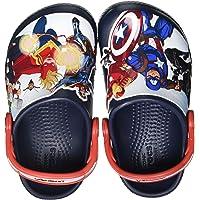 Crocs Fun Lab Avengers Patch Clog, Obstrucción Unisex niños