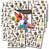 Zootopia Stickers Party Favors ~ Set of 2 Sticker Packs ~ 12 Sheets Over 240 Stickers plus Bonus Reward Stickers! Nick Wilde