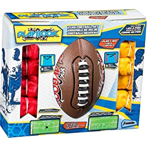Franklin Sports Youth Flag Football Set — Flag Football Set for Kids — Mini Playbook for Flag Football — Includes 2 Flag Sets of 5