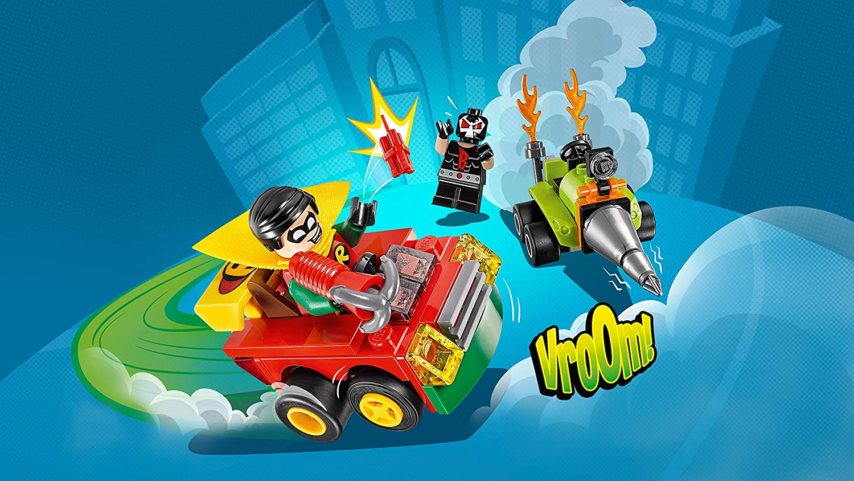 LEGO SUPER HEROES: Mighty Micros Robin vs Bane