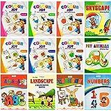 Mini Colouring books set of 12 from Inikao