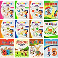 Mini Colouring books set of 12 from Inikao