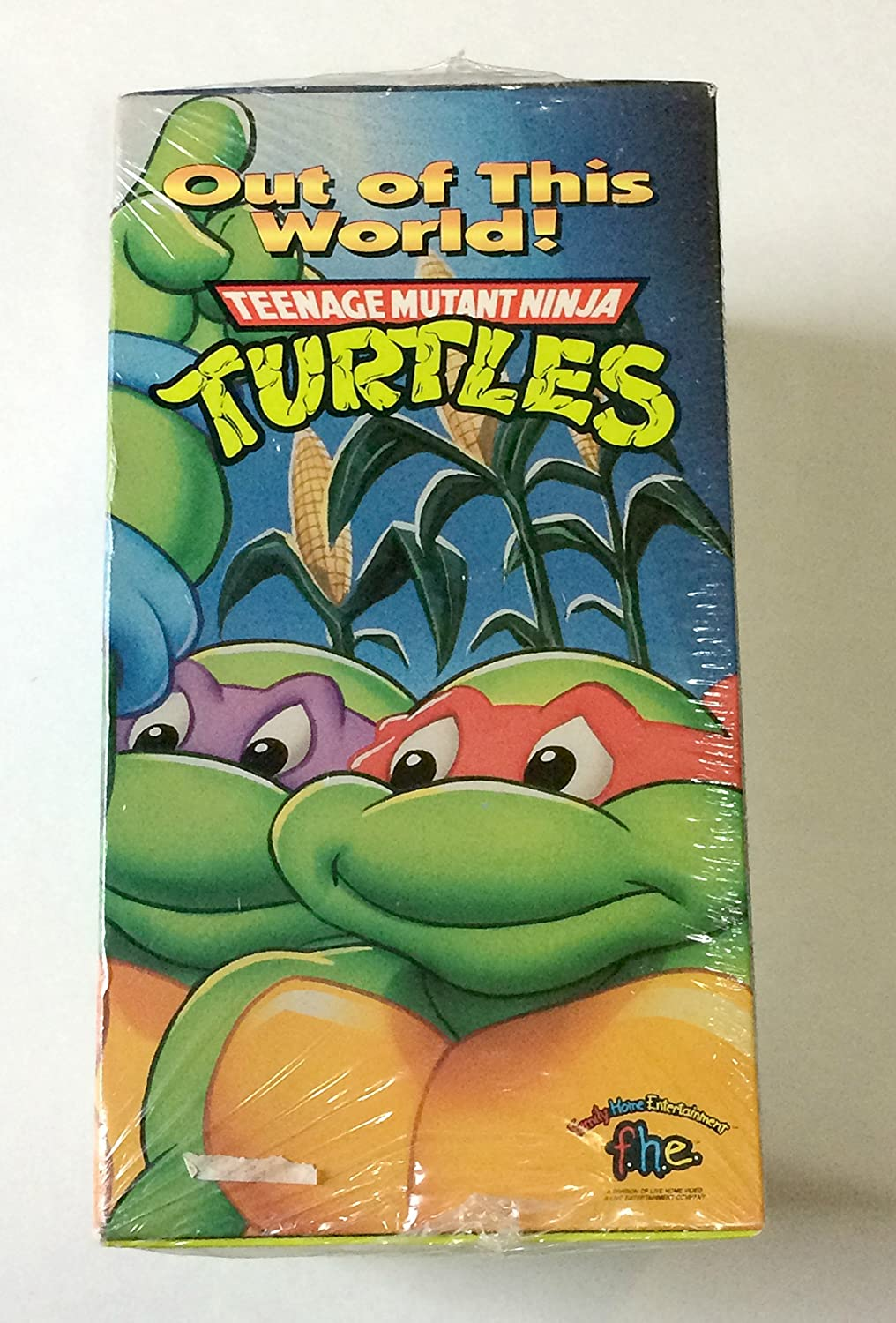 Amazon.com: Tmnt: Out of This World 4PK [VHS]: Teenage ...