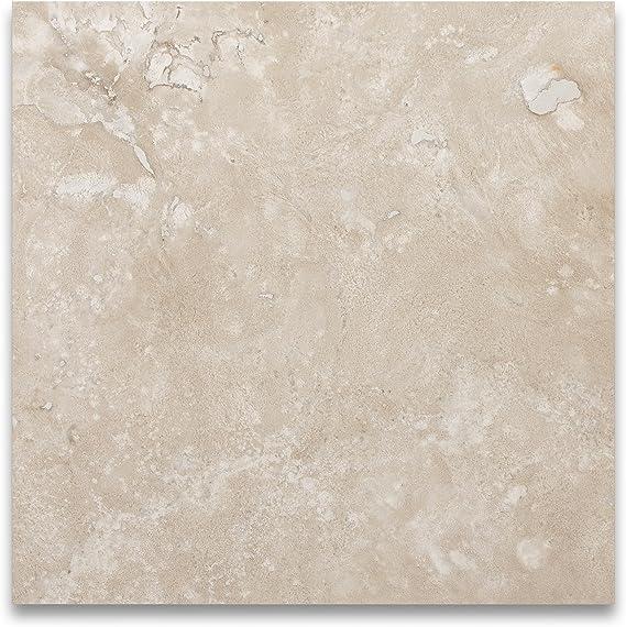 Durango Cream Travertine 12 X 12 Filled And Honed Tile Marble Tiles Amazon Com