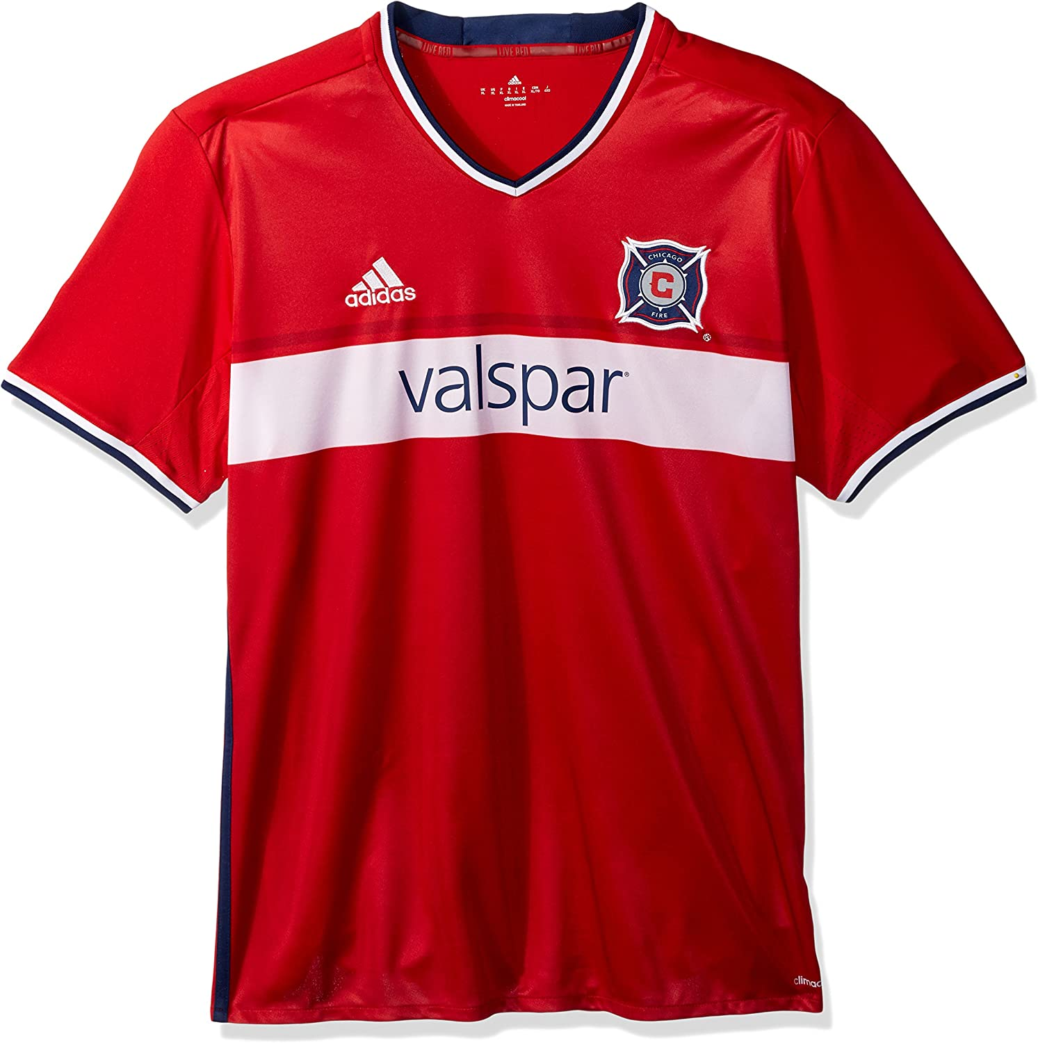 adidas MLS Mens Replica Wordmark S/S Jersey