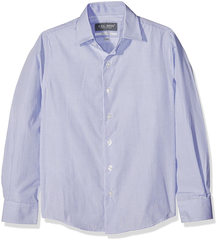 G.O.L. Boy's Hemd Mit Haifischkragen, Slimfit Shirt 5545800