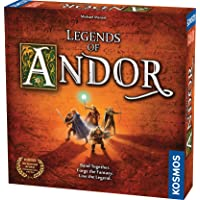 Thames & Kosmos Legends Of Andor Cooperative Strategy Adventure Board Game