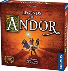 Legends of Andor Board Game | Cooperative Strategy Adventure Game By KOSMOS | Spiel Des Jahres Kennerspiel Winner