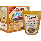 Bob's Red Mill Gluten Free Honey Oat Granola, 12 Ounce (Pack of 4) (Package May Vary)