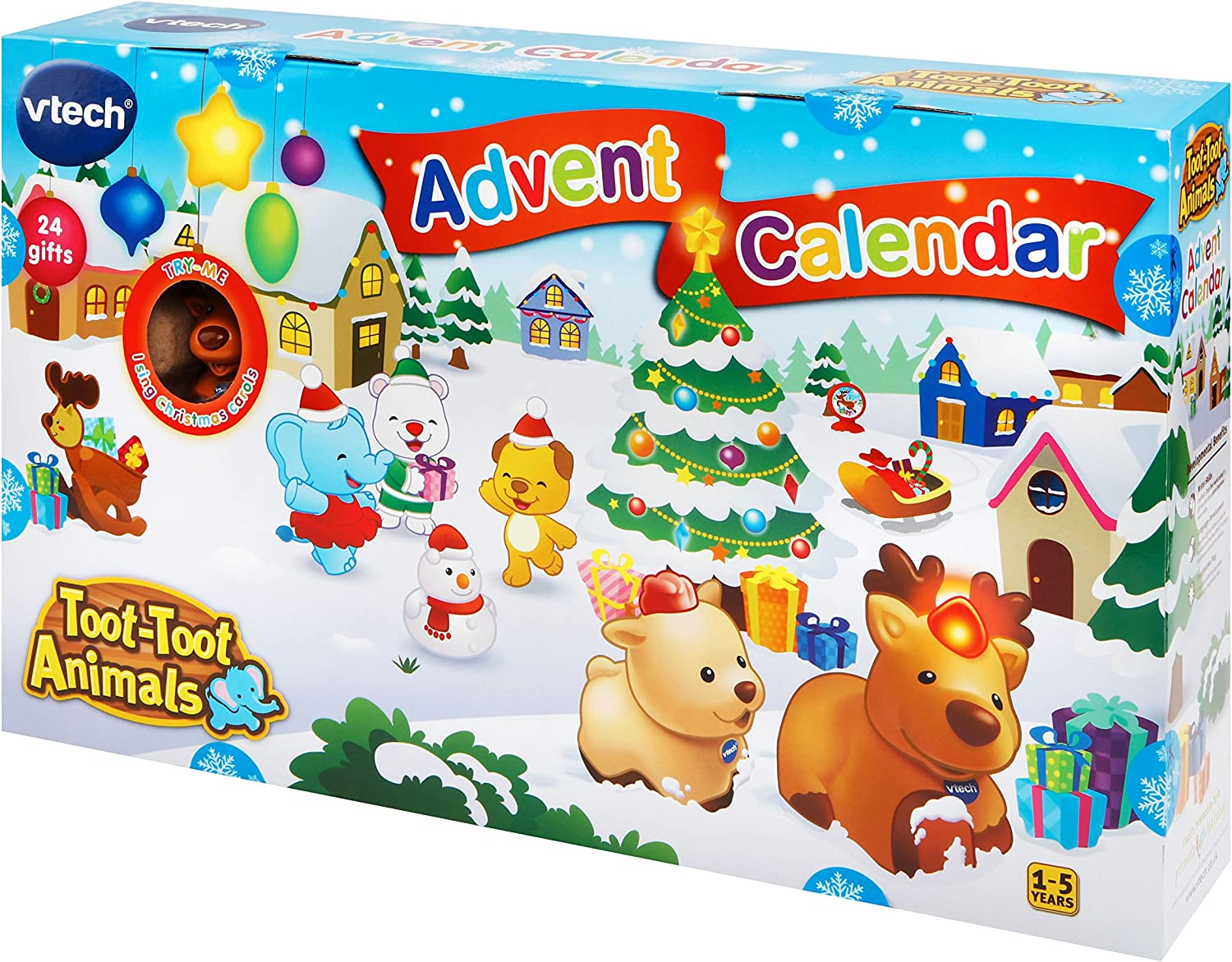 Toot-Toot Drivers Advent Calendrier Multicolore