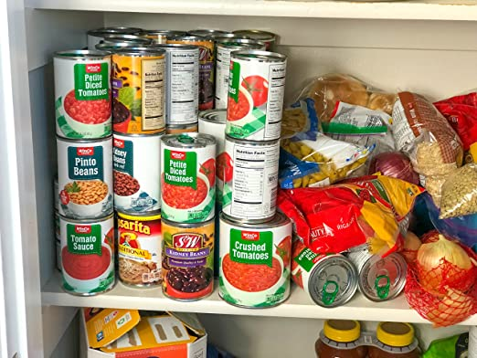 Amazon.com   FIFO Can Tracker  Food Storage Canned Foods  Organizer/Rotater/Dispenser: Kitchen, Cupboard, Cabinet, Pantry  Rotate Up  To 54 Cans   Made In USA ...