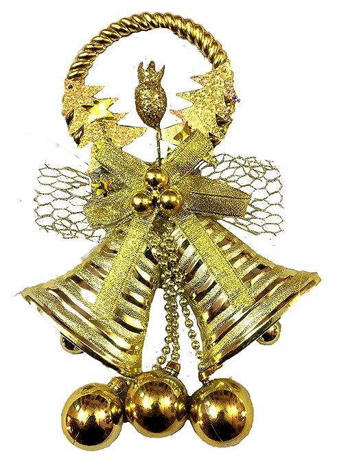 Christmas Bells.Buy Ojus Christmas Bells Christmas Decoration 2 Bells