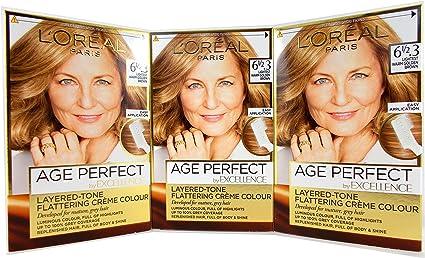 LOreal Excellence Age Perfect 6-1/2.3 - Juego de 3 unidades ...
