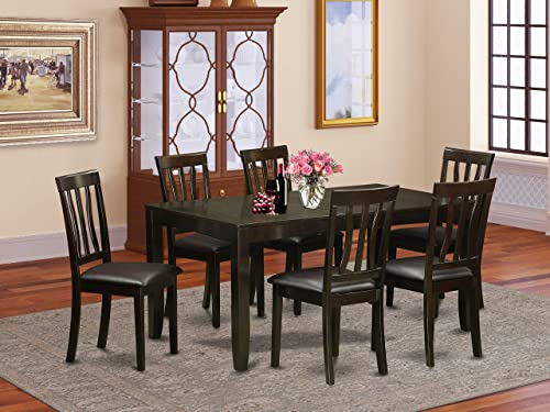 7 PC Dining room set-Dining Table