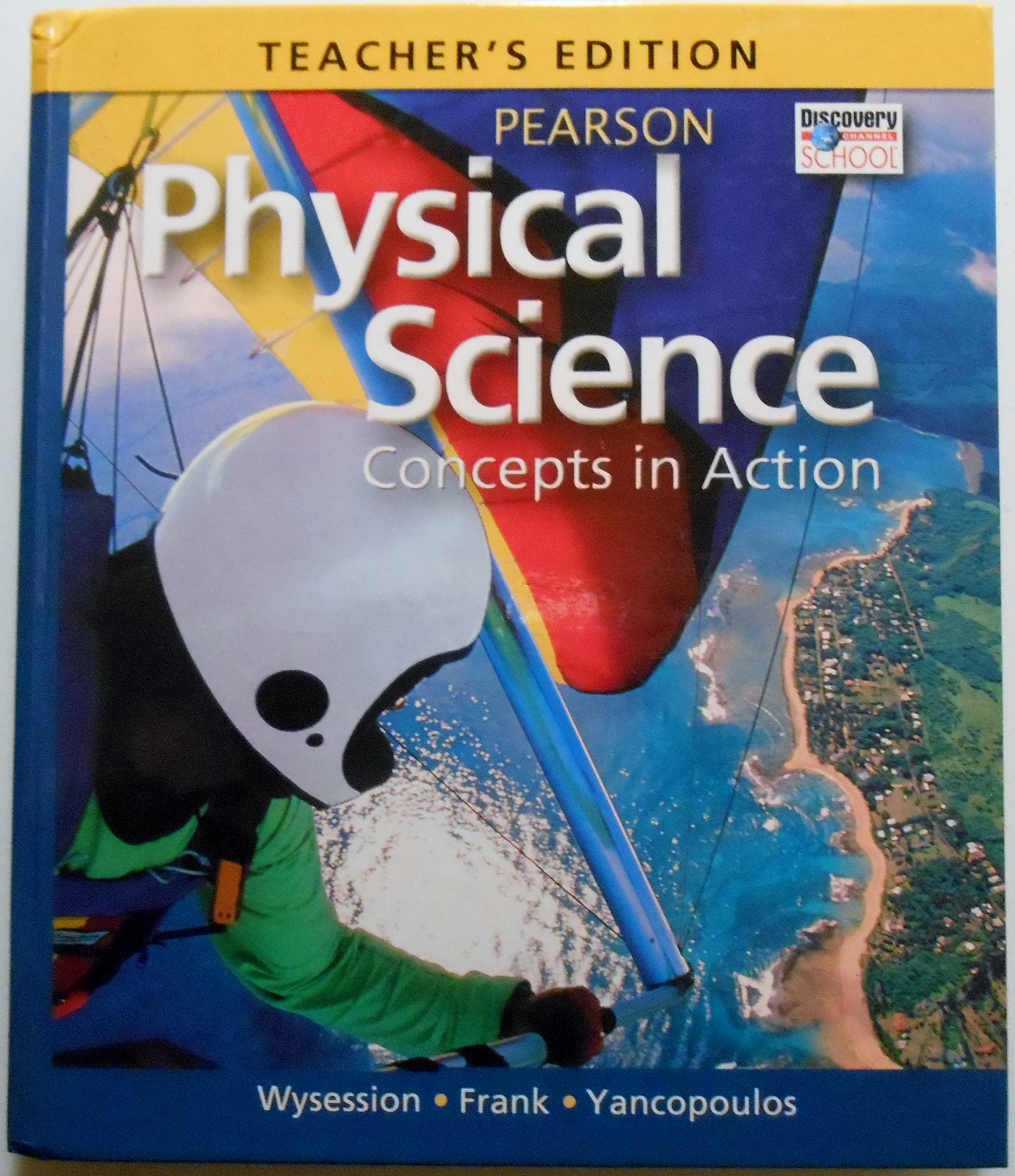 Read Online Teacher's Edition, Physical Science: Concepts in Action ebook