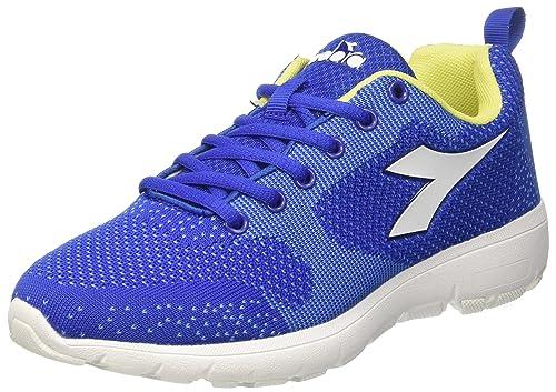 X Run Light W, Zapatillas de Running para Mujer, Verde (Verde Ceramica Ch Bianco), 39 EU Diadora