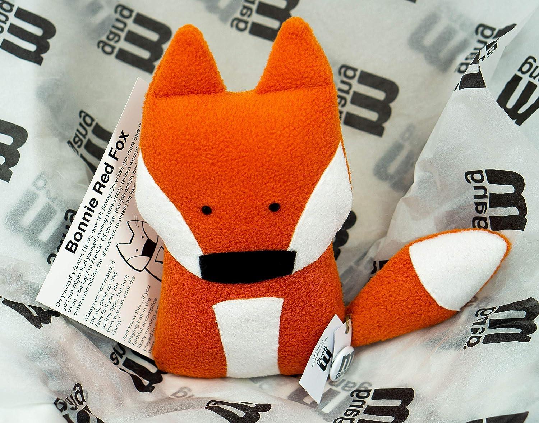 Stuffed Fox Handmade 24cm Fox Toy Nursery Decor Toy Plush Fox Fox Stuffed Animal Fox Soft Toy Maua Gang Bonnie Red Fox Fox Teddy Fox Cuddly Toy