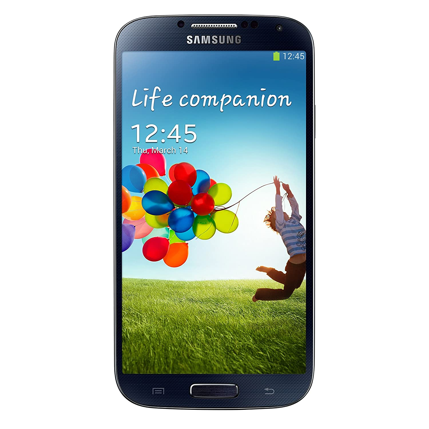 c8746ad7c7cbc8 Amazon.com: Samsung Galaxy S4 i9500 Factory Unlocked Cellphone,  International Version, 16GB, Black : Cell Phones & Accessories