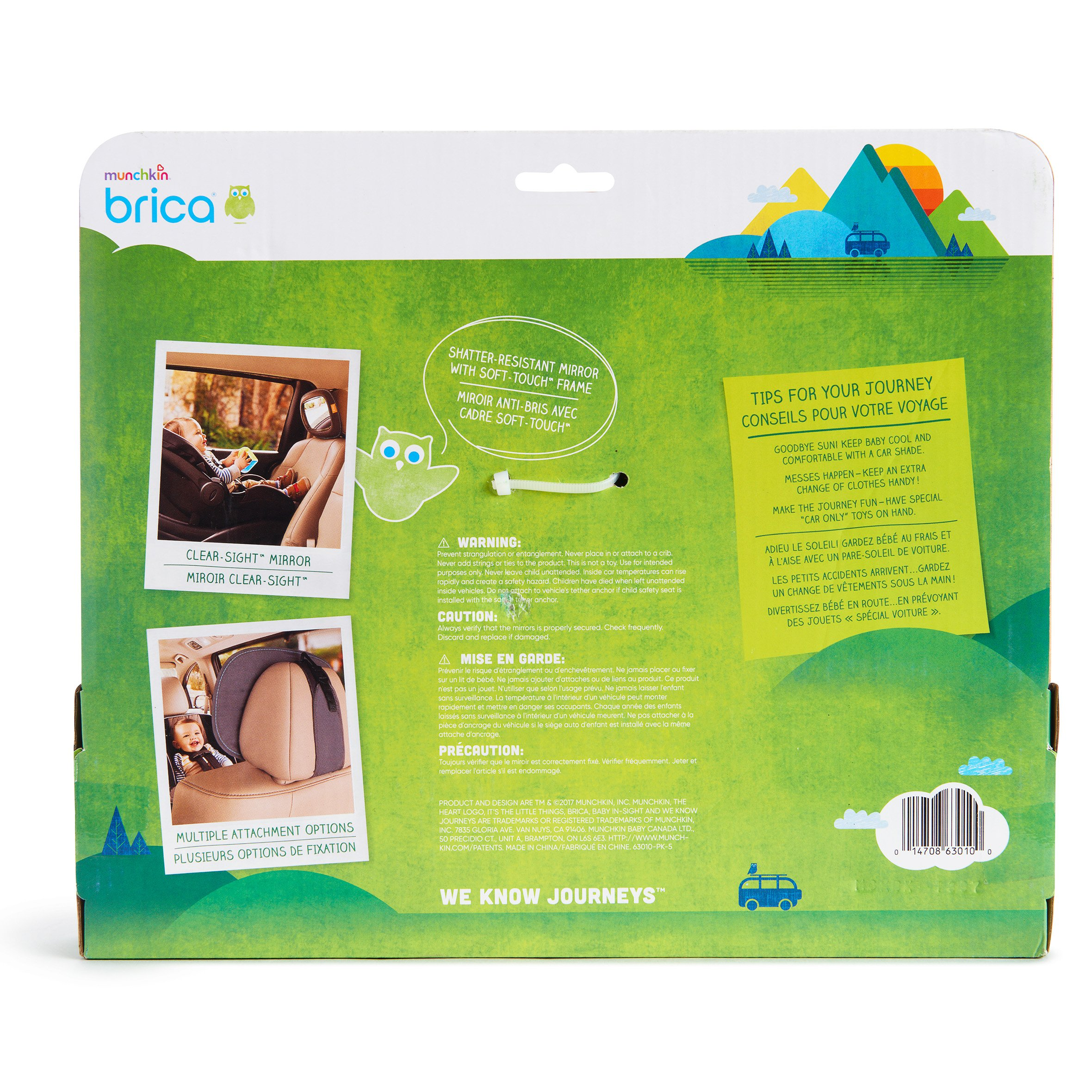 Brica Vivid Reflection Baby In-Sight Car Mirror, Crash Tested and Shatter Resistant by Brica (Image #7)