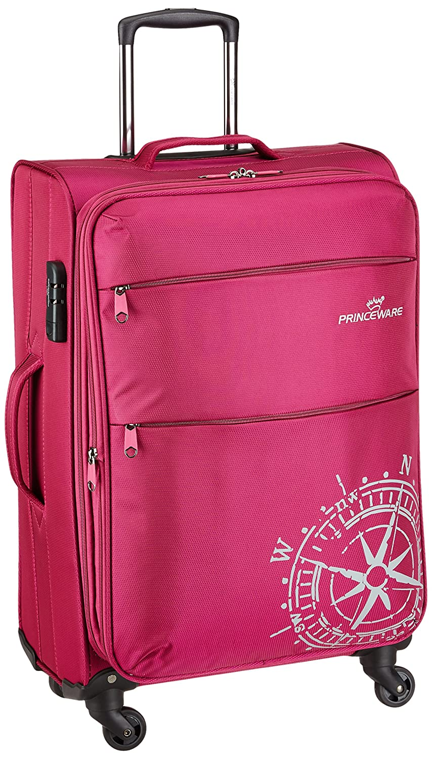Princeware Geolite Carry-On Suitcase at Flat 70% off + Free International Warranty