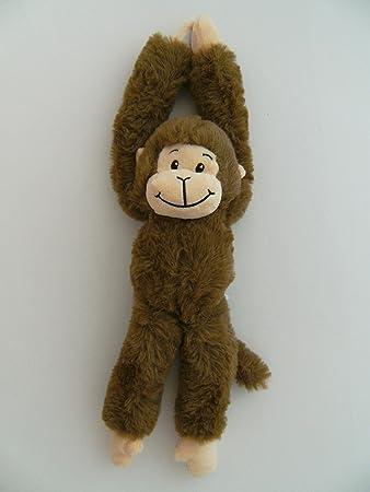 Aurora World 60289 Pl/üschtier 19 Zoll H/ängender Chimpanse braun