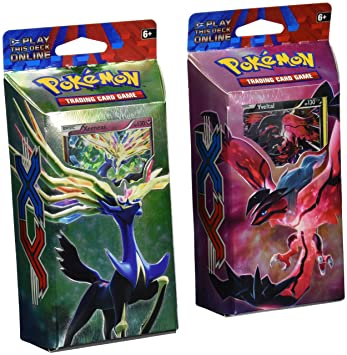 BOTH DECKS - Pokemon 2014 TCG Card Game XY Theme Decks ...