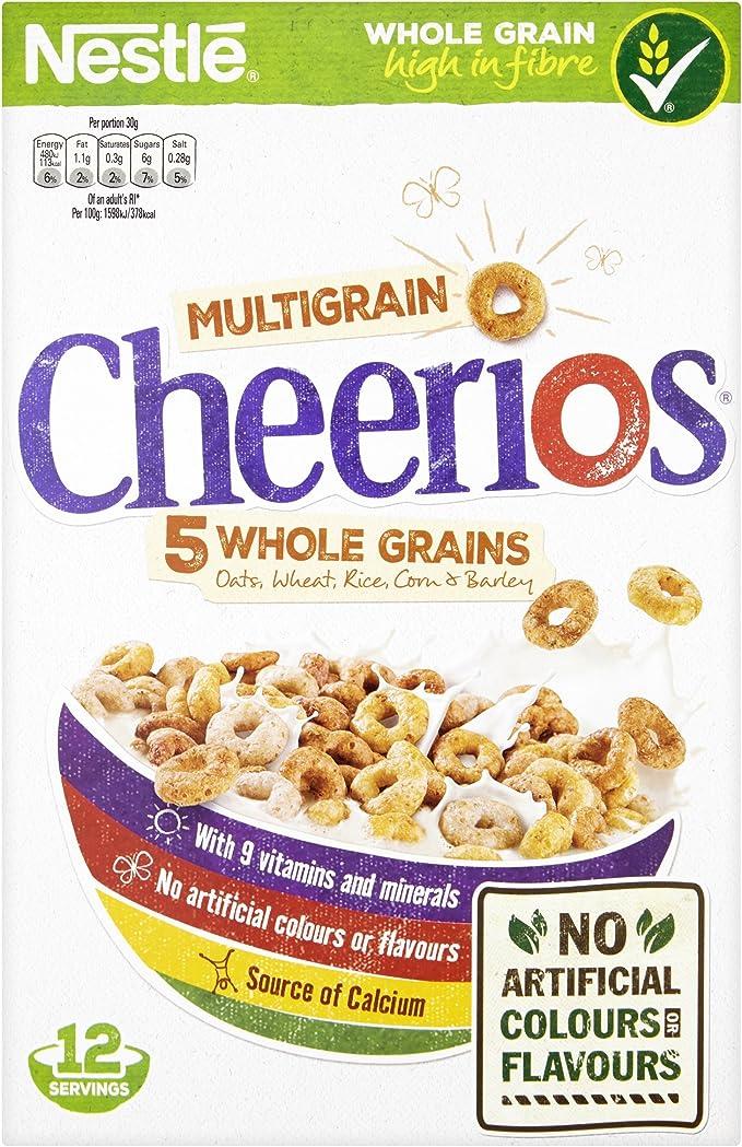 Nestle Cheerios 375g: Amazon.es: Alimentación y bebidas