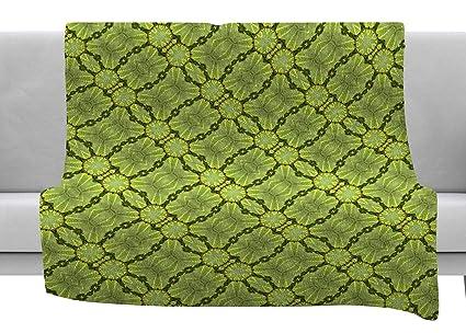 Amazon.com: KESS InHouse Laura Nicholson Leafy Lozenges ...