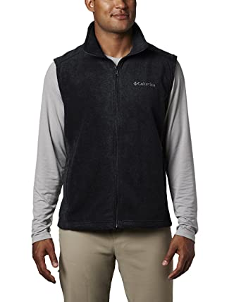 9d8e587d610b2 Columbia Men s Steens Mountain Full Zip Soft Fleece Vest at Amazon ...