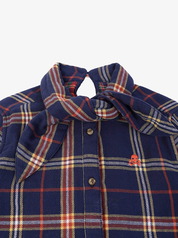 Scalpers Camisa Cuadros Lazo - Navy / 14: Amazon.es: Ropa y ...