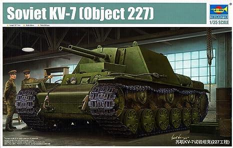 Trumpeter 09504 - Maqueta de Soviet KV de 7 Object 227 ...