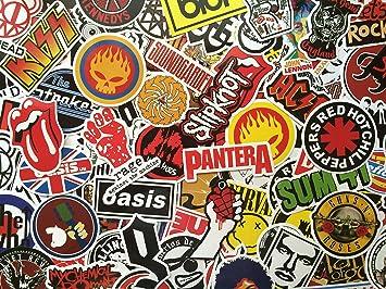S&B Paquete de Pegatinas Rockeras