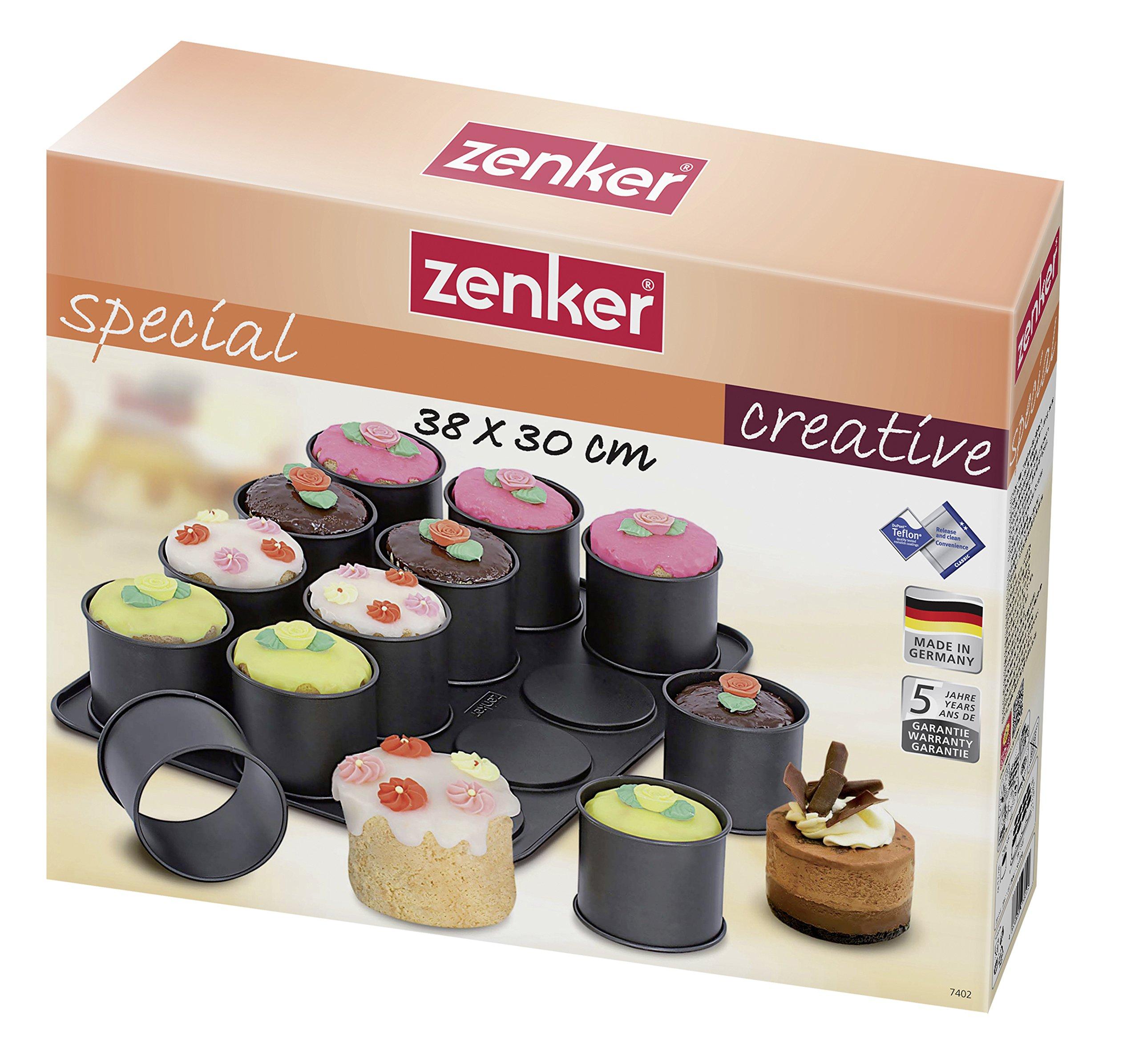 Zenker Ring Mold Creations, Nonstick by Zenker (Image #5)