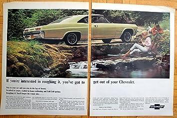 Amazon Com 1965 Chevrolet Impala Sports Coupe Yellow