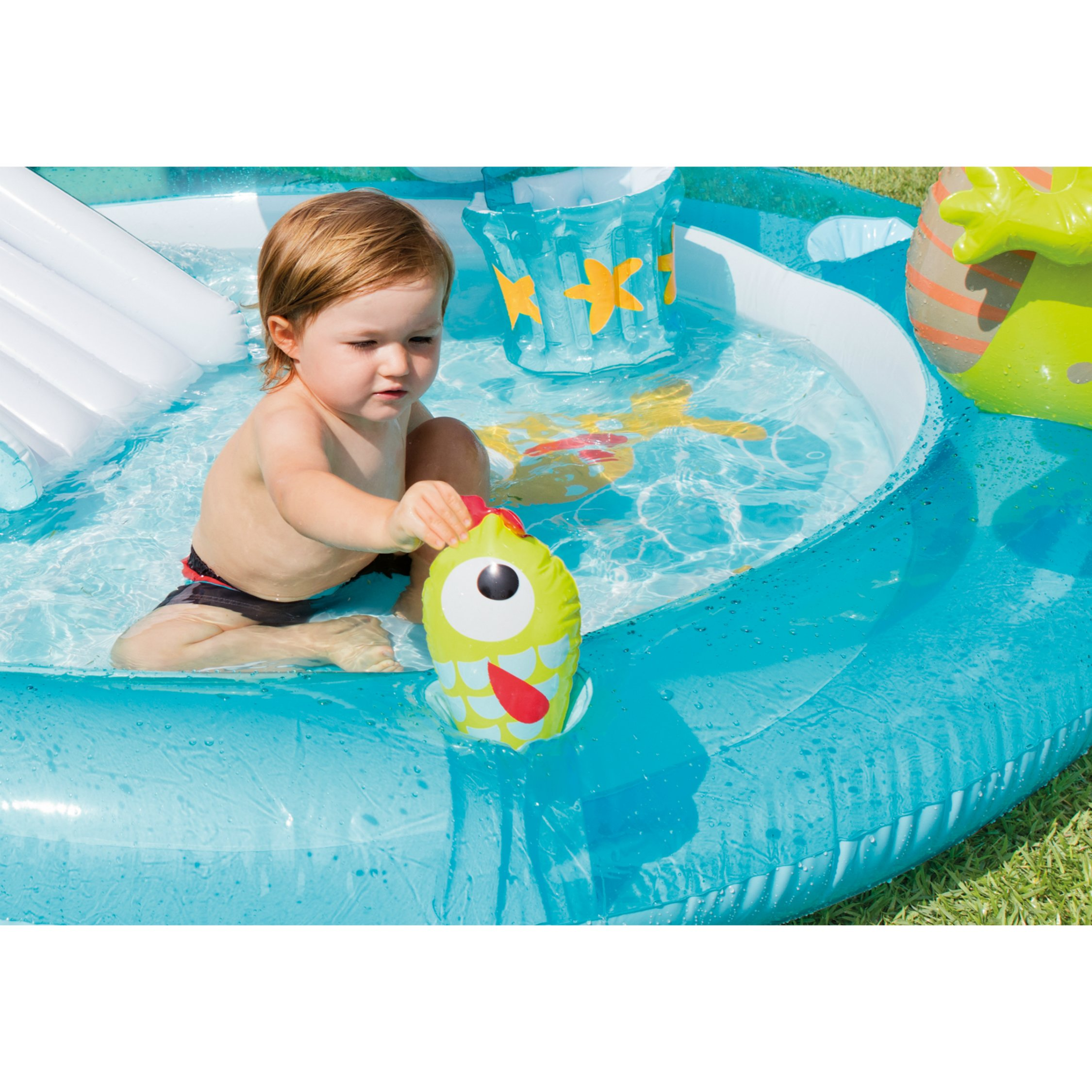 Intex Gator Inflatable Play Center, 80'' X 68'' X 35'', for Ages 2+ by Intex (Image #5)