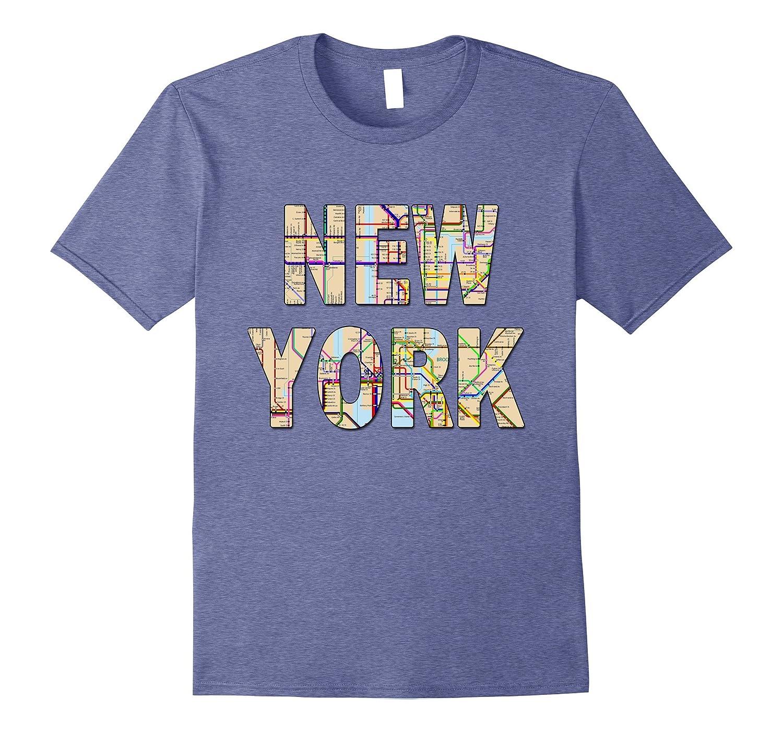 Nyc Subway Map Tshirt.New York City Subway Map T Shirt Awsome Cool Nyc Tee Shirt Th