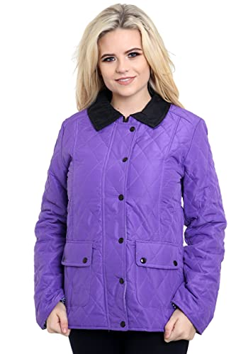 Gneretaion Fashion - Chaqueta - chaqueta guateada - para mujer