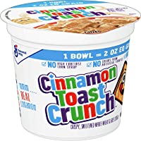 Cinnamon Toast Crunch Cereal Cup, 12 Cups, 2 oz