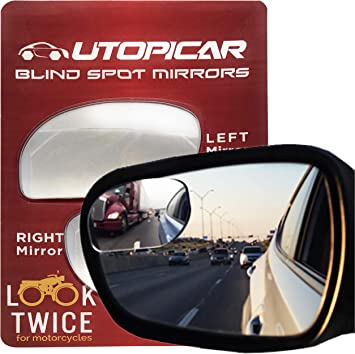 Brand New Blind Spot 2 Inch Exterior Mirror for the Side View Mirror