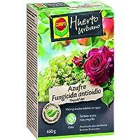 Compo Azufre fungicida anti oídio, Microgránulos solubles en agua, Para plantas ornamentales, arbustos y árboles, Apto…